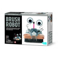 Creative DIY] [4M Brush Robot Brush strange robot