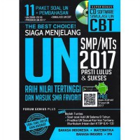 The Best Choice! Siaga Menjelang UN SMP/MTs 2017