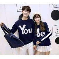 Promo !! Atasan Couple You and Me [Navy]