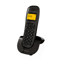 [NEW] ALCATEL C250 Cordless Phone - The nice rounded shape design - 1 Handset