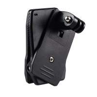 GoPro Action Camera Rotary Clip 360 Mount for GOPRO, BRICA B-PRO & Xiaomi Yi Camera
