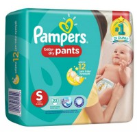 Pampers Popok Baby Dry Pants S 22