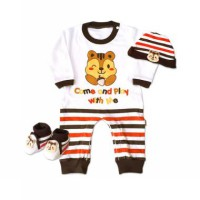 Kiddy Baby Gift Set Jumper Lengan Panjang