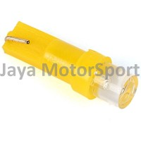 Lampu LED Mobil / Motor / Speedometer / Dashboard T5 1 SMD Concave - Yellow