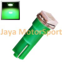 Lampu LED Mobil / Motor / Speedometer / Dashboard T5 1 SMD 5050 - Green