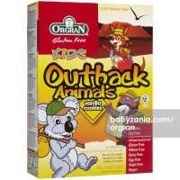Orgran Outback Animals Vanilla Cookies 175 gram