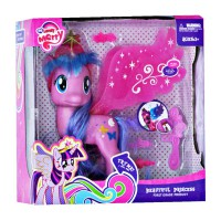 My Lovely Merry Little Pony Sound & Light Wings- Mainan Kuda Little Pony Sayap-Ages 3+