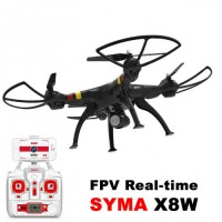 Promo! Drone Syma X8W FPV Big RC QuadCopter Wifi Video Remote Control