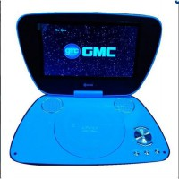 GMC Portable DVD Video Player + TV 7' DIVX-808Q