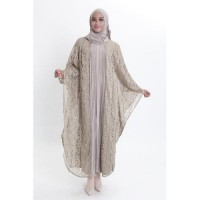 FORTWO forTWO Falerie Tulle Lace FW-189 - Mocca Dusty