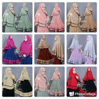 BELLA SYARI JERSEY PREMIUM PLUS BERGO 1 LAYER BUSUI FIT TO L