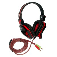 Rexus Headset Gaming F22 - Merah
