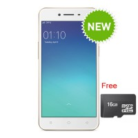 Oppo A37 Smartphone - Rose Gold + Free MicroSD 16GB