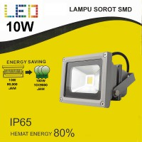 EELIC KABPEM10 10W 6500K PUTIH - WHITE LAMPU SOROT - FLOOD LIGHT SMD LED