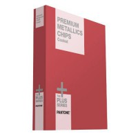 [poledit] PANTONE GB1505 Plus Series Premium Metallics Chip Book (R1)/5461078