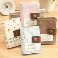 Dompet Kartu Flower card case holder Lifestyle