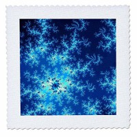 [macyskorea] 3dRose Fractal Background in The Different Shades of Dark Blue. - Quilt Squar/9549143