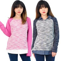 TH Whimsical sweatshirt - best seller pakaian wanita