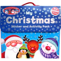 [HelloPandaBooks] My Christmas Sticker and Activity Pack contains 4 books and over 1000 stickers