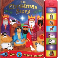 [HelloPandaBooks] The Christmas Story Super Sound Book with 8 magical sounds!