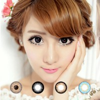 Softlens EOS (Rainshower,SBK,Bambi Kimchi,Mimi,Cat Eyes,Sunflower,Luna,Briller,V-Check)