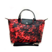 Tas Wanita Authentic Longchamp Le Pliage Fantaisie Line Camouflage Medium