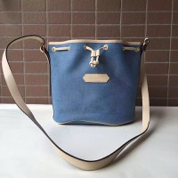 Tas Selempang AUTHENTIC Longchamp Vintage Toile Sling Bag