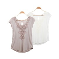 Woman Simple Blouse Branded