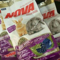 Rr rabbit food nova mix berris 1kg