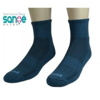 Sante Health deodorant socks - wicking sports socks -L 6 Dual