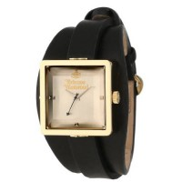 [macyskorea] Vivienne Westwood Womens VV008GDBK Stainless Steel Cube Gold Watch With Black/14626302