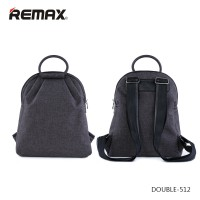 Remax Fashion Notebook Bags - Double 512 - Gray