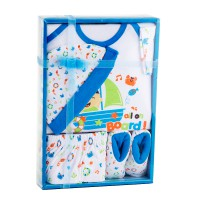 NEW BABY KIDDY GIFT SET ALL ON BOARD - NEW BORN PLUS - 3 WARNA