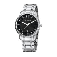 Moment watch - Guy Laroche G2010-03 - jam tangan pria - stainlles steel - putih