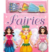 [HelloPandaBooks] Magnetic Dressing Up FAIRIES over 25 Outfits & Accessories!