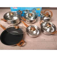 12Pcs Stainless Steel Cokware Airlux SC-8012
