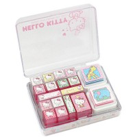 One hundred and two shop / Hello Kitty diary stamp stamp set