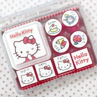 One hundred and two shop / Hello Kitty Mini stamp diary stamp set