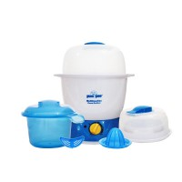 Pumpee 5 in 1 Multifuntion Steam Sterilizer/Sterilisasi Makanan Bayi/Alat Steril Tempat Makan Bayi