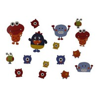 [poledit] Graco Baby Monsters Wall Decals (R1)/12208606