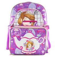 [holiczone] Disney Sofia the First 16 Backpack w Lunch Box/727809