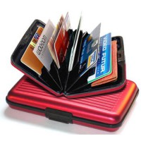 Credit Card Wallet - Dompet Kartu Kredit (RFID BLOCKING)