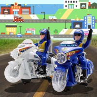 Open Special Discount Cuckoo's rotating light motorcycle police