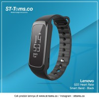Lenovo G03 Heart Rate Smart Band - Black