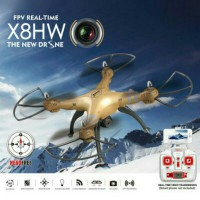New Syma X8HW 2,4 Ghz Quadcopter Wifi Real Time with HD Camera