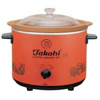 TAKAHI ELECTRIC CROCK CROCKERY POT SLOW COOKER 1,2 1.2 L 3102 HR