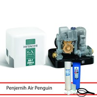 Pompa Air Hitachi WM-P130GX Daya Hanya 130 Watt (Free Filter Air Penguin)
