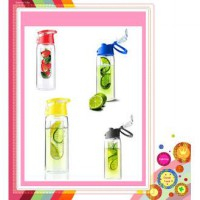 Botol Tritan Fruit Infused Water 2nd kesehatan buah lemon anti oksidan