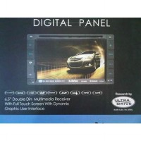 TV MOBIL DOUBLE DIN X-DRIVE XD-6589 (Digital Panel  Socket Plug n Play for TOYOTA