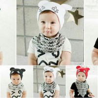 TP034/Topi Fashion baby mickey mouse/topi fashion anak/topi bayi/topi fashion bayi/topi bayi trendy